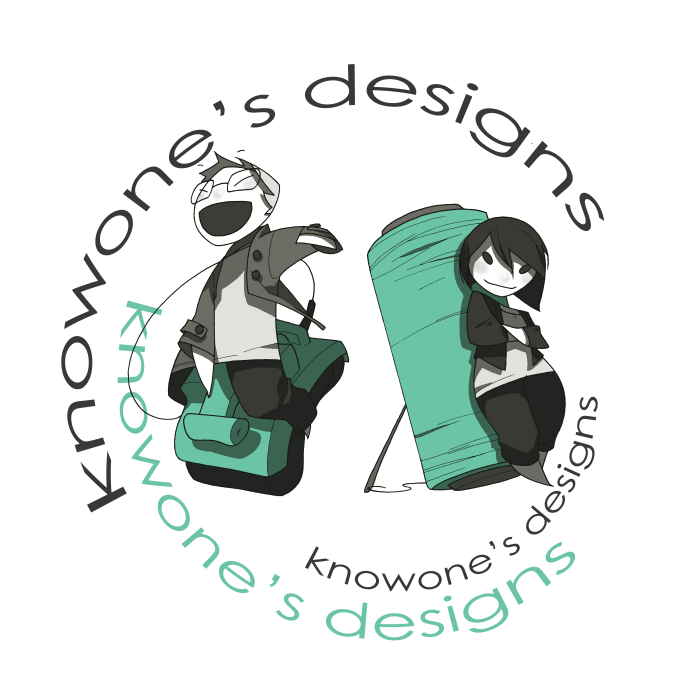 Knowone's Designs Logo G+J